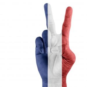 drapeau-francais-main